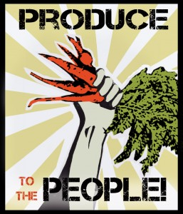 produce to the people yellow
